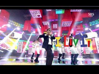 PSY(サイ)、新曲'I LUV IT' 'NEW FACE' カムバックステージ (SBS人気歌謡)