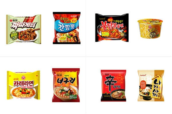 チャパグリを超える韓国ハイブリッドラーメン組み合わせ10