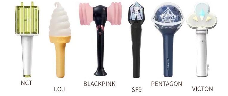 K-POPアイドルペンライト(応援棒)まとめ